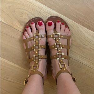Vintage tory burch gladiator sandals